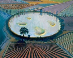 Wayne Thiebaud Reflection Pool, 1997