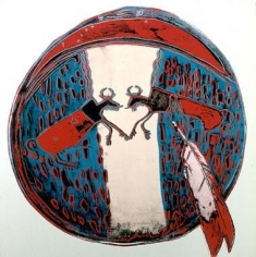 Andy Warhol Cowboys and Indians: Plains Indian Shield