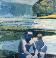 Paul Wonner River Bathers