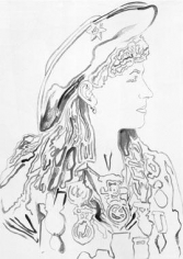 Andy Warhol Cowboys and Indians: Annie Oakley, 1986