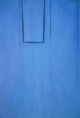 Robert Motherwell Open Series #80 (In Medium Ultramarine with Charcoal Line)