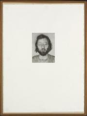 Chuck Close Mark, 1973