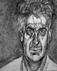 Lucian Freud Portrait Head