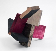Untitled 2005 wood and casein