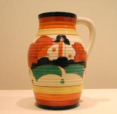 Farmhouse single-handled lotus jug