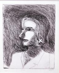 Richard Diebenkorn #23 from 41 Etchings Drypoints