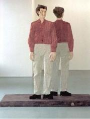 Stephen Balkenhol Double Identity Figure, 1992