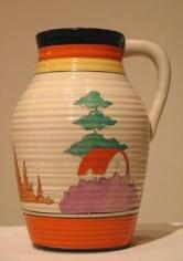 Orange Roof Cottage single-handled lotus jug