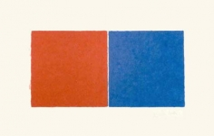 Ellsworth Kelly Untitled (Red and Blue Squares),1976