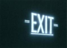 Edward Ruscha Exit