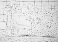 Le repos sur le lit