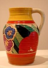 Red Gardenia single-handled lotus jug