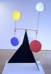 Carroi 1966 sheet metal, wire and paint