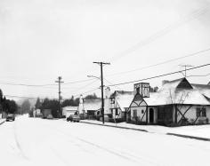 Florian Maier-Aichen, La Brea Avenue in the Snow, 2011