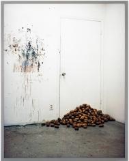 Rodney Graham, Potatoes Blocking My Studio Door, 2006