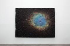 Matt Johnson, Untitled (Cosmos Tarp, Supernova), 2015