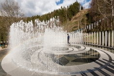 Jeppe Hein, Path of Silence, 2016