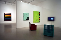 Mary Heilmann, To Be Someone Orange, County Museum of Art, 2007