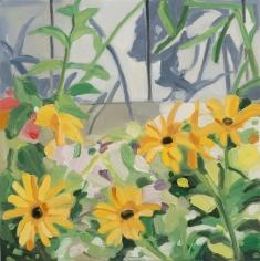 Maureen Gallace, Backyard, June 24th, 2015