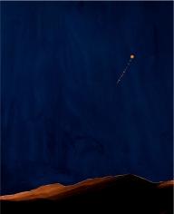 Florian Maier-Aichen, Nacht im Riesengebirge [Night in the Riesengebirge], 2011