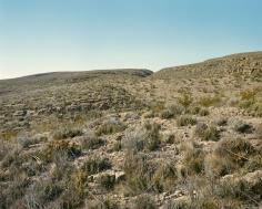 Stephen Shore, Brewster County, Texas, 1987