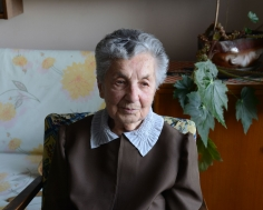 Stephen Shore, Tilda Galpert, Uzhgorod, Ukraine, October 11, 2013