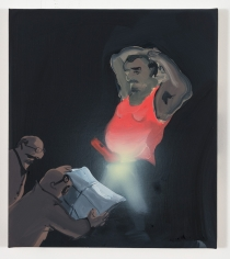 Tala Madani, Reading Light, 2013