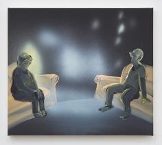 Tala Madani, Lights in the livingroom, 2017