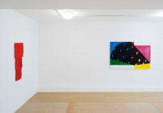 Installation view: Mary Heilmann: Painting Pictures, The Dan Flavin Art Institute, Bridgehampton, NY, 2017