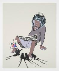 Tala Madani, Abstract Pussy, 2013