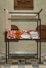 Marina Pinsky, Meat Stand I (1793-1796), 2017