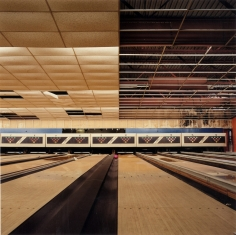 Jane and Louise Wilson, Suspended Island, Bowling Alley, 2005