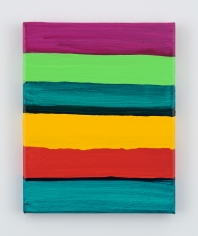 Mary Heilmann, Serape Line-Up, 2017