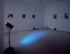 Karen Kilimnik, Installation view: The Sleeping Beauty, 303 Gallery, 1997