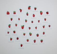 Hans-Peter Feldmann, One Pound Strawberries