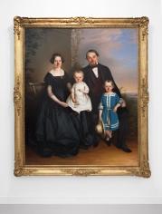 Hans-Peter Feldmann, Family portrait with Red Noses