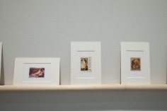 Hans-Peter Feldmann, Stamps with paintings, Art Basel | Art Unlimited 2011