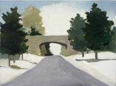Maureen Gallace, Merritt Parkway, Winter, 2002