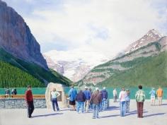 Tim Gardner, Tourists at Lake Louise, 2009