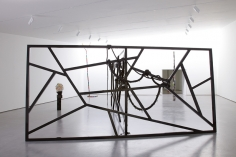 Eva Rothschild, Installation view: Hot Touch, The Hepworth Wakefield, 2011