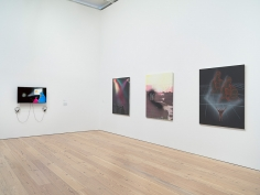 Tala Madani, Installation view: Whitney Biennial 2017