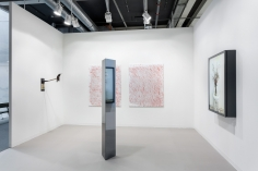 Installation view: Art Basel, 2017, 303 Gallery, Booth L21