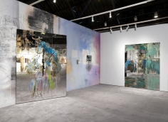 Nick Mauss, Installation view: ADAA: The Art Show, 2016