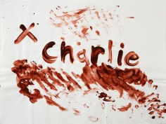 Karen Kilimnik, Blood Drawing, (Charlie) I, 1992