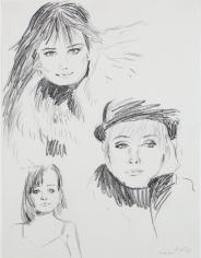 Karen Kilimnik, very dickensian and nureyev outfit, 1987
