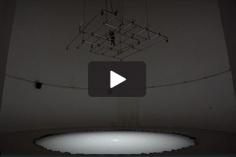 Doug Aitken,Sonic Fountain II,2013/2015 atFloating Worlds: The 14th Biennale De Lyon,La Sucrière & Lyon Museum Of Contemporary Art, 2017