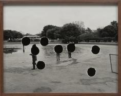 Elad Lassry, Landscape (Flamingos), 2013