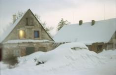 Wiesen, Haus mit Licht, 2010