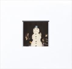 A und L und Schneemann (A and L and snowman)  13 01 03, 2003