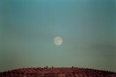 Winterarbeiten, Mondlandschaft, 2001
